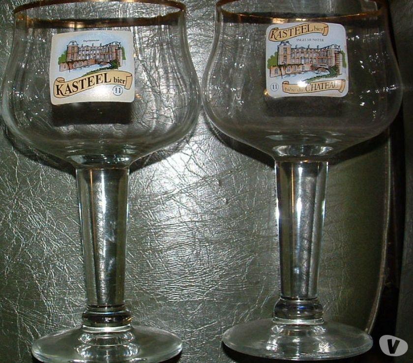 Photos Vivastreet magnifiques verres KASTEEL , 2 Modèles, voir photo, 3€ le ve