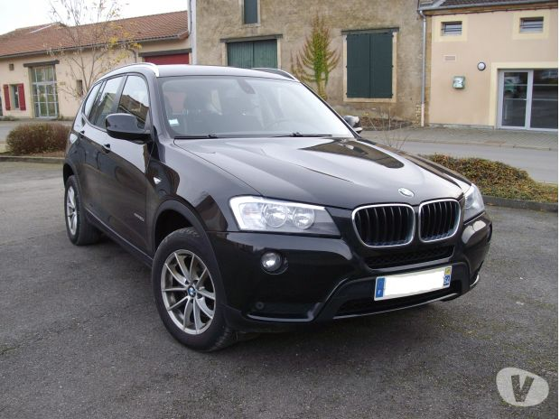 bmw x3 184ch 12 2011 90000km diesel avec options longuyon 54260 voiture occasion pas cher. Black Bedroom Furniture Sets. Home Design Ideas