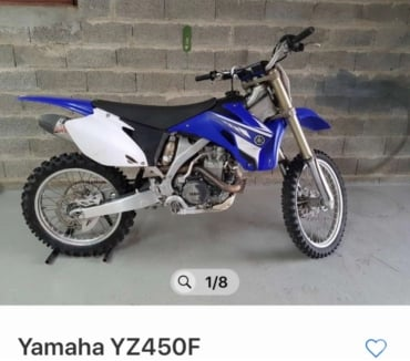 Photos Vivastreet yz450f