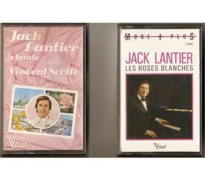 Photos Vivastreet K7 Cassettes audio Jack Lantier (lot de 2)