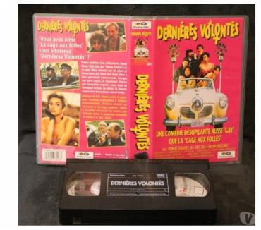 Photos Vivastreet K7 VHS secam film Dernières volontés 100 mn couleur