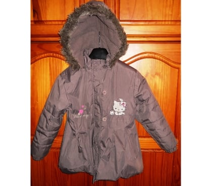 Photos Vivastreet MANTEAU FILLE « CHARMMKITTY» A CAPUCHE 8 ANS MARRON