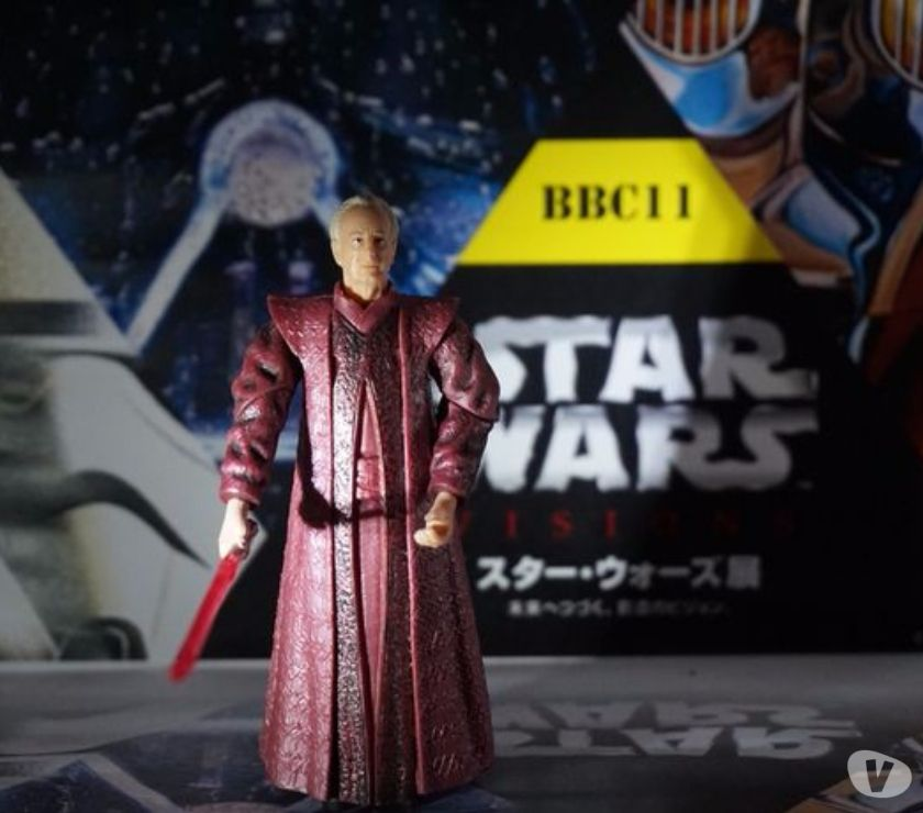 Photos Vivastreet Figurine star wars chancelier palpatine phase 1