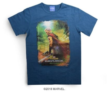 Photos Vivastreet T-shirt Thor : Ragnorok Taille L - Fluorescent (Neuf)