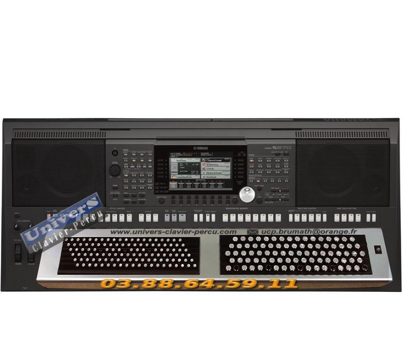 Instruments de musique Bas-Rhin Mommenheim - 67670 - Photos Vivastreet YAMAHA PSR-S970 - clavier bouton accordéon