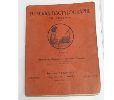 Photos Vivastreet Livre dactylographie et correspondance 1943