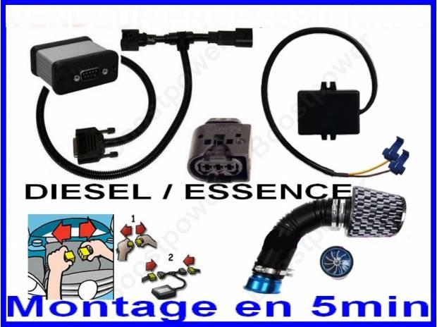 pi ces accessoires auto promo boitier additionnel essence diesel allemand puce 25cv. Black Bedroom Furniture Sets. Home Design Ideas