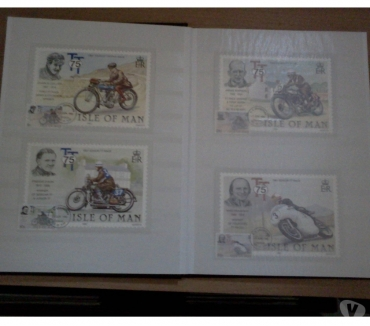 Photos Vivastreet ALBUM DE TIMBRES THEME MOTOS , RARE