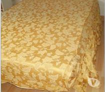Dessus de lit couvre lit très ancien coloris OR