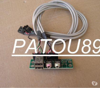 Photos Vivastreet Support interne prises USB et Audio