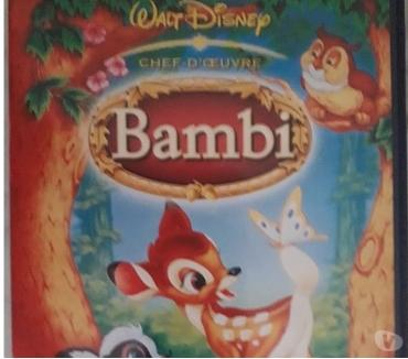 Photos Vivastreet DVD Disney chef-d'oeuvre : Bambi 1 etou 2