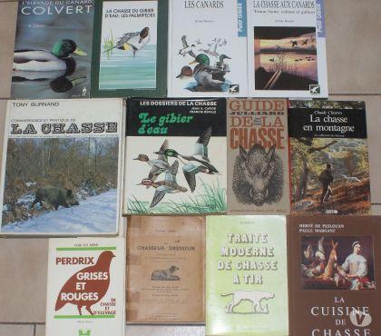 Photos Vivastreet 12 rares livres sur le thème de la chasse & la chasse canard