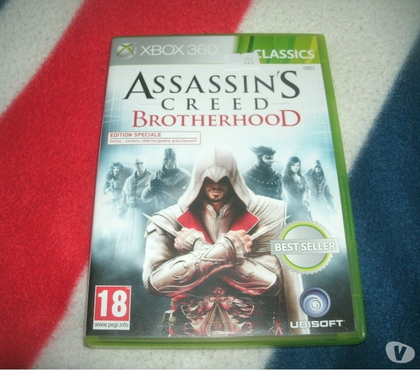 Photos Vivastreet xbox 360 assassin's creed brotherhood