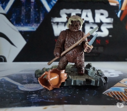 Photos Vivastreet Figurine star wars ewok TIPPET ewok pack TRU exclusive