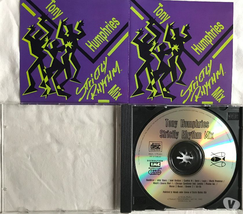 Photos Vivastreet CD Tony Humphries - Strictly Rhythm Mix Compilation