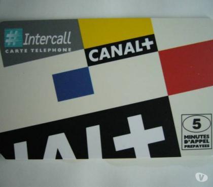 Photos Vivastreet Cartes téléphone de collection CANAL+