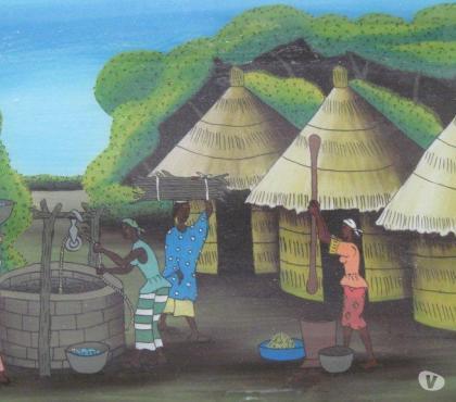 Photos Vivastreet tableau africain