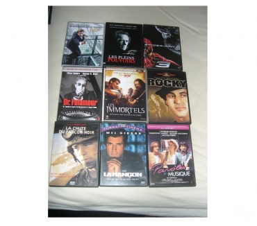 Photos Vivastreet COLLECTIONS FILMS DVD LES IMMORTELS LES PLENS POUVOIRS