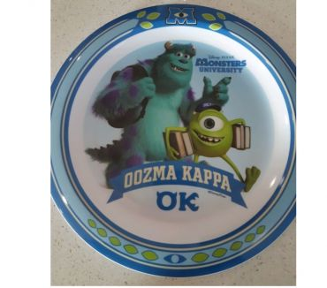 Photos Vivastreet assiette monsters university