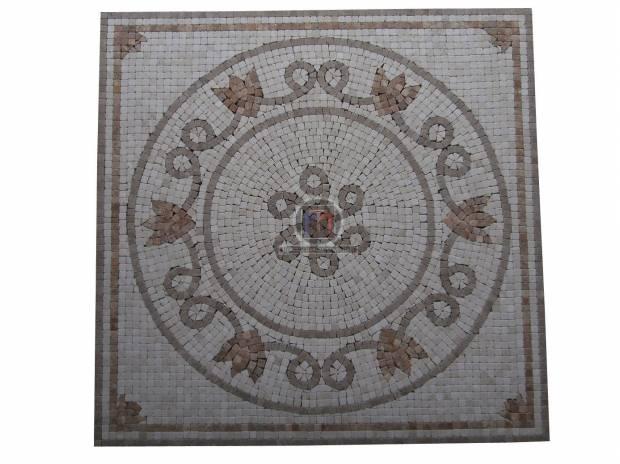 travertin micro mosaique rosaces en stock lancon provence 13680 mat riel pas cher d. Black Bedroom Furniture Sets. Home Design Ideas