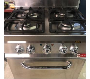 Photos Vivastreet Cuisinière à gaz 4 brûleurs + four Electrique