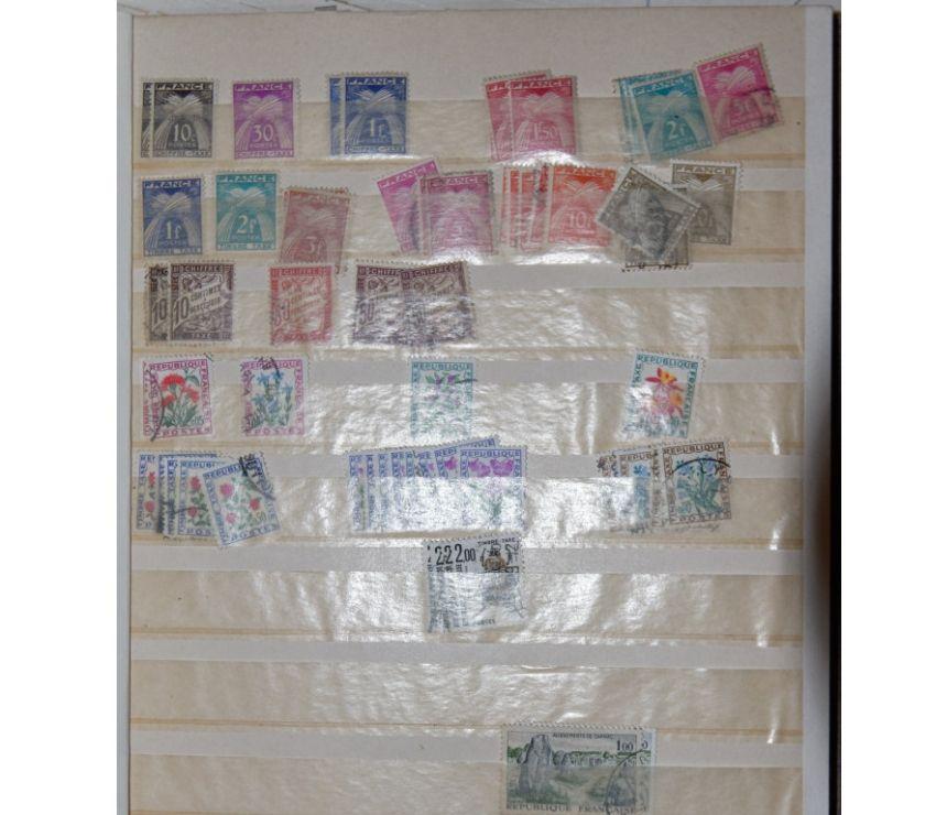 Collection Rhône Francheville - 69340 - Photos Vivastreet Album timbres français oblitérés