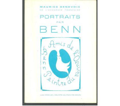 Photos Vivastreet Portraits par BENN préface de Maurice GENEVOIX 1976