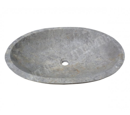 Photos Vivastreet Marbre Silver Shadow Vasque Ovale 65x45 En Stock