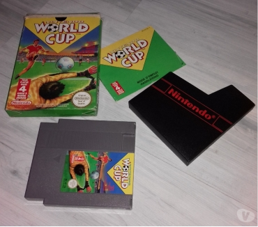 Photos Vivastreet JEU CONSOLE NES , WORLD CUP FOOT