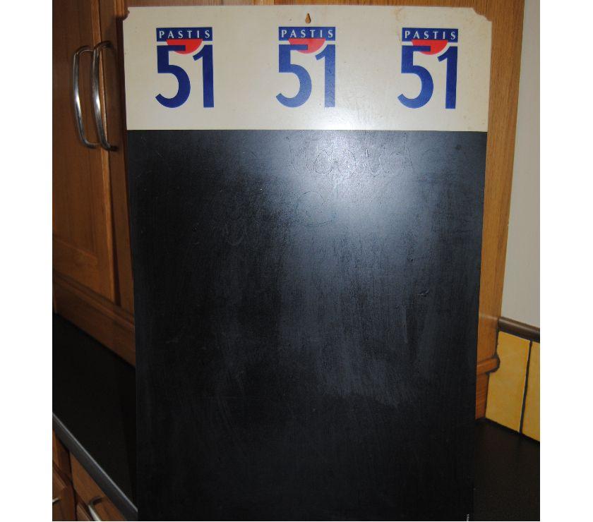 Photos Vivastreet panneau 51 pour écrire ses courses avec de la craie