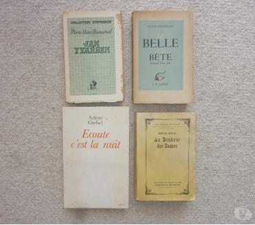 Photos Vivastreet 3 livres anciens de diverses éditions