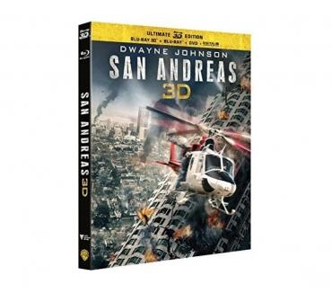Photos Vivastreet FILMS {SAN ANDREAS} DVD BLU RAY 3D EXCELLENT ETAT.
