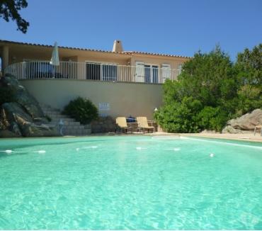 Photos Vivastreet Villa, vue mer et piscine à Palombaggia pour 8 personnes.