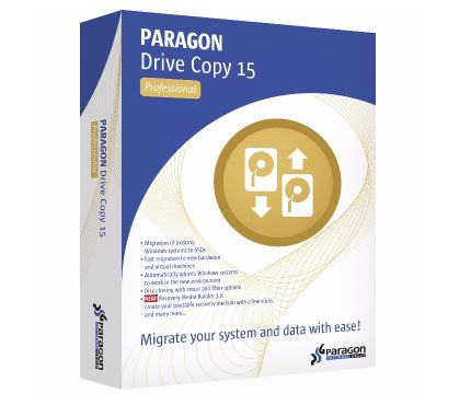 Photos Vivastreet PARAGON Drive Copy 15 Professional (5 postes)