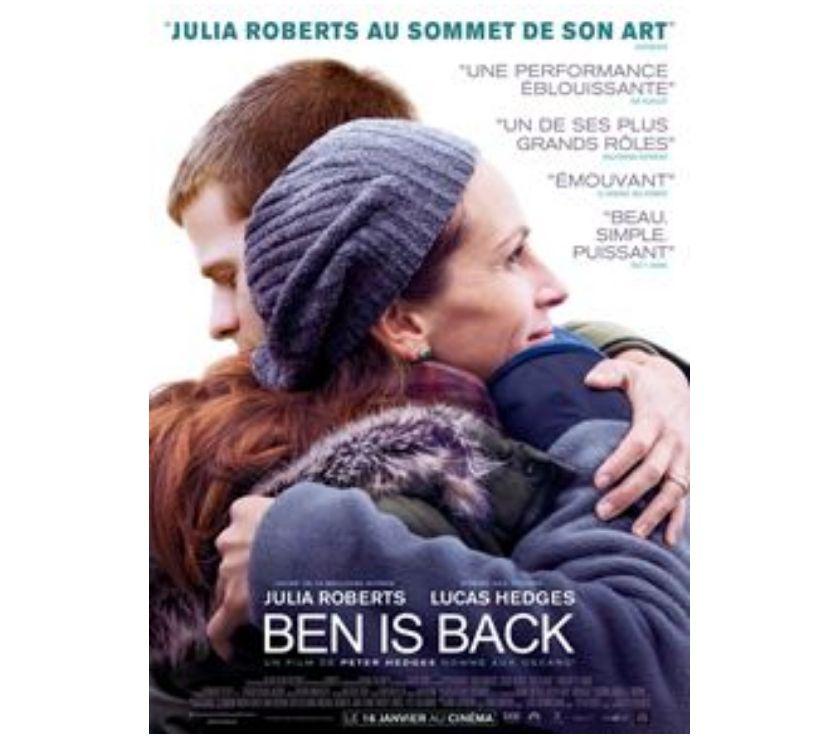 Photos Vivastreet 2 places de cinéma pour Ben is back