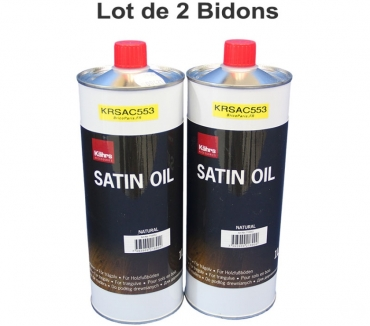 Photos Vivastreet Lot de 2 bidons Kährs Huile Satin Oil