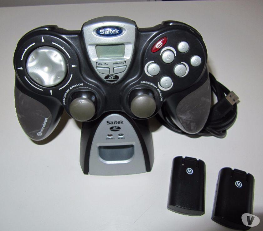 Jeux vidéo - consoles Rhône Lyon - Photos Vivastreet Manette de jeux sans fil SAITEK