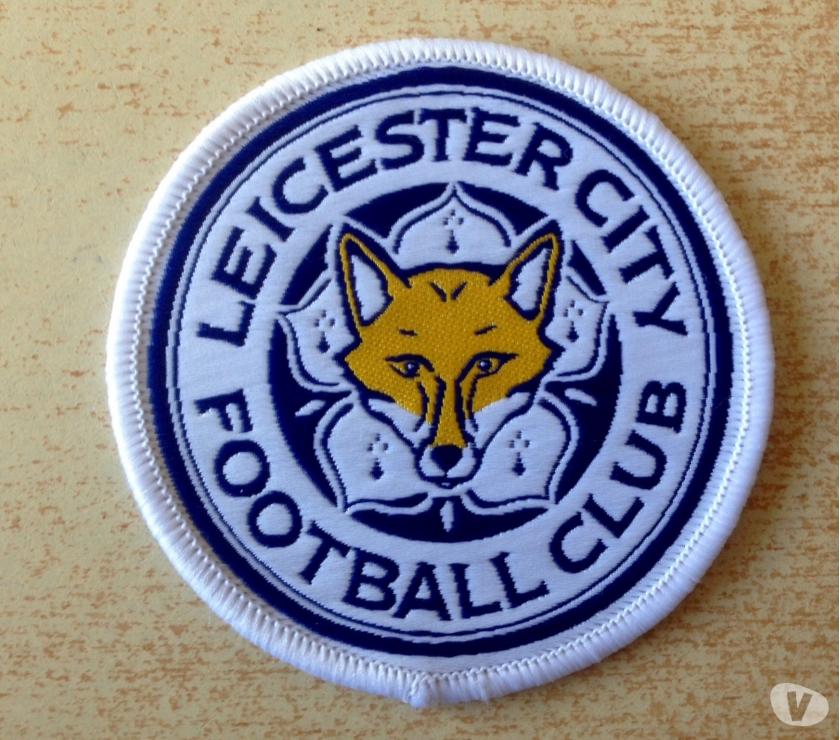 photos vivastreet cusson leicester city football club diam 7 cm - Ecusson De Foot