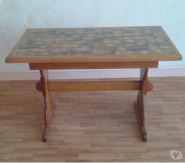 Photos Vivastreet une table de cuisine bois