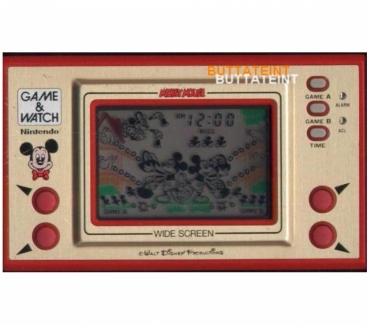 Photos Vivastreet LCD GAME & WATCH NINTENDO MC-25 SEUL - MICKEY MOUSE