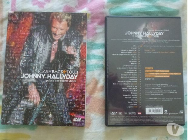 Photos Vivastreet DVD Johnny Hallyday au Palais des Sports 2006