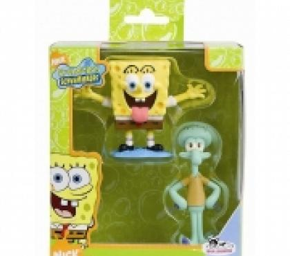 Photos Vivastreet Coffret cadeau 2 figurines Bob L'Eponge