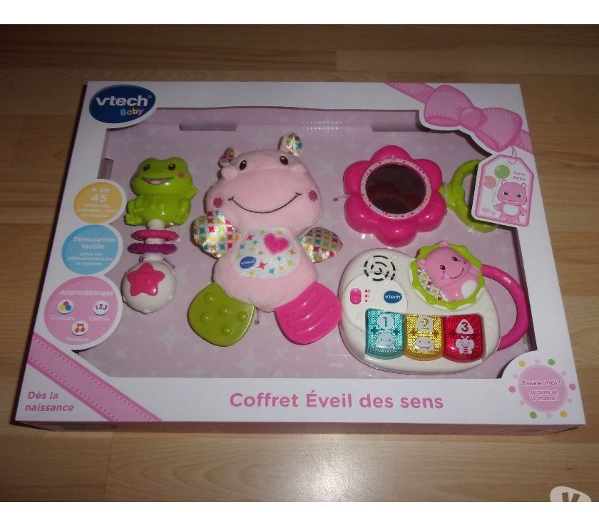 Jeux - Jouets Ardèche Ardoix - 07290 - Photos Vivastreet Jeu Vtech Coffret Eveil des sens (Neuf)
