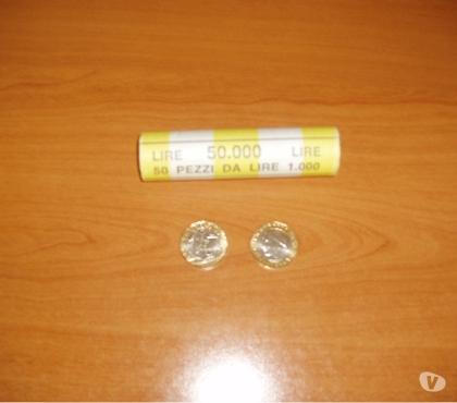Photos Vivastreet 50 pièces de 1000 lires 1997 KM 190
