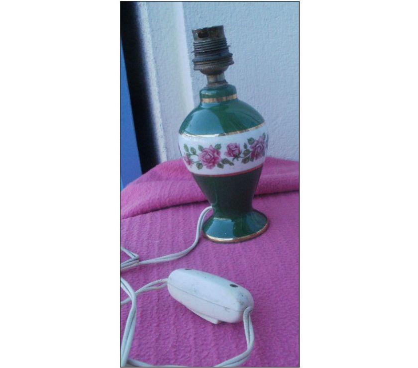 Pied De Lampe Ancienne En Porcelaine De France Montauban 82000
