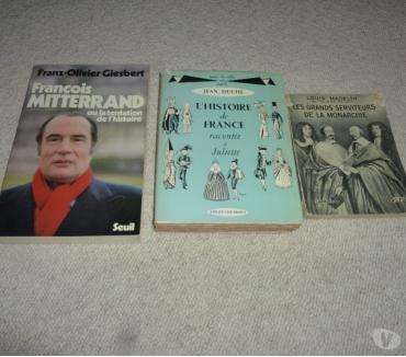 Photos Vivastreet 3 livres sur l'histoire
