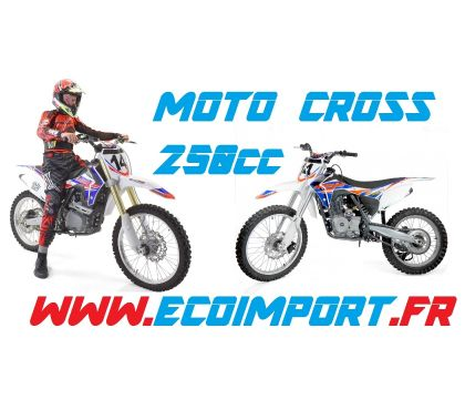 Photos Vivastreet Dirt bike 250cc grande roue pas cher ! Moto cross 250 Neuve
