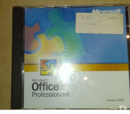 Photos Vivastreet microsoft Office XP PRO 2002 Authentique