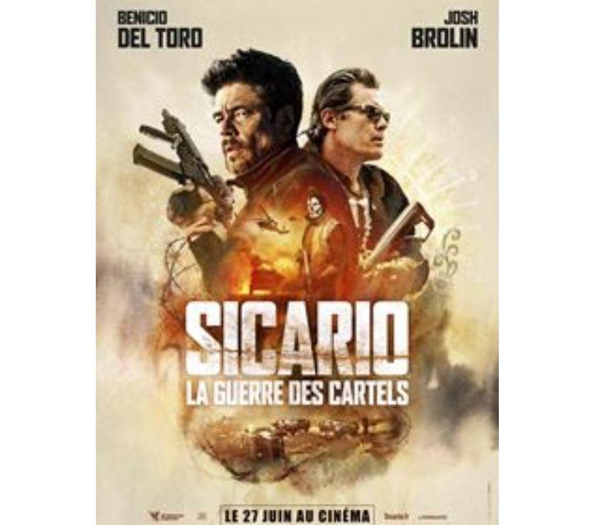 """Spectacles Ardèche Ardoix - 07290 - Photos Vivastreet 1 place pour le film """"Sicario La Guerre des Cartels"""""""