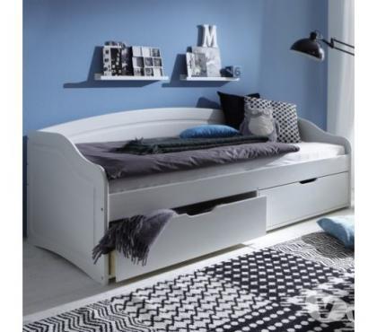 Photos Vivastreet Lit Sofa 90x200 2 tiroirs avec sommier